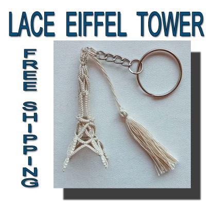 3D small Eiffel Tower