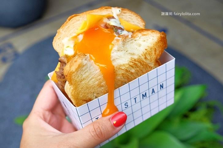 DSCF7715 - 吐司男晨食專賣店。清晨六點半開人潮擠滿滿,韓系文青早餐店,一咬黃澄蛋液立馬爆出來!