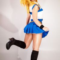 Fairy Tail - Strip Cosplay: Lucy Heartfilia