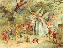The Arrival of the King & The Queen of Fairies - Stuart Hardy