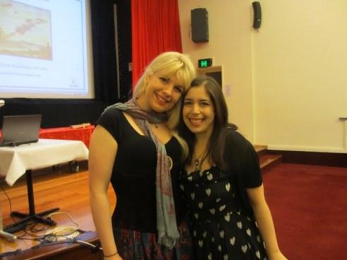Roslyn Quin and Belinda Calderone