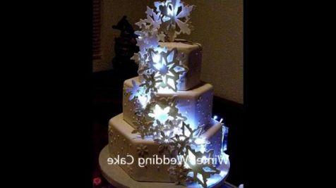 wedding cake designs winter ideas