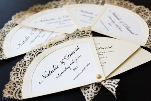 Spanish Wedding Theme - Fan Invitation | Wedding and Party Invitations and Stationery by NulkiNulks.com