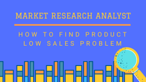 Read more about the article Market Research Analyst: How to Find Product Sales Problem 2021