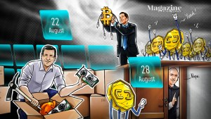Read more about the article U.S. Congress submits 18 crypto bills in 2021, Visa buys $150K CryptoPunk, MicroStrategy snaps up more BTC: Hodler's Digest, Aug. 22-28