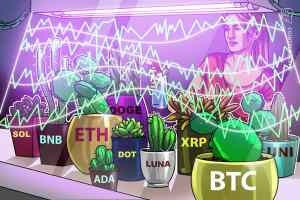 Read more about the article Price analysis 10/11: BTC, ETH, BNB, ADA, XRP, SOL, DOGE, DOT, LUNA, UNI