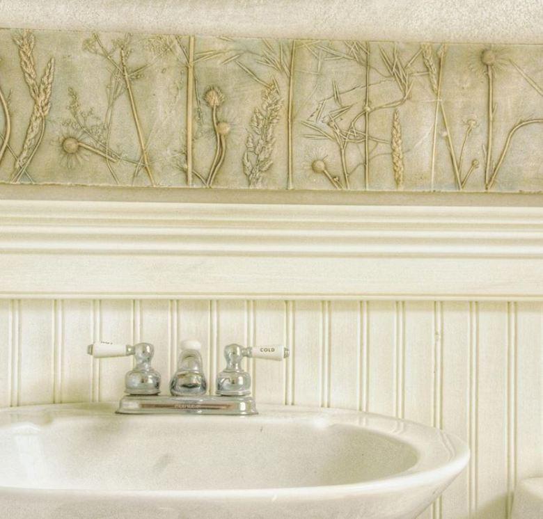 Plâtre décoratif