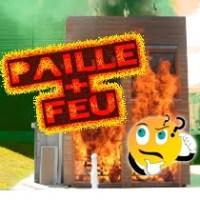 feu maison paille
