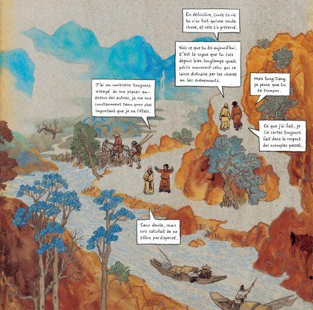 Guillaume Trouillard - livre Song Jiang - Exposition Faites des Bulles Lormont