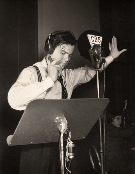 Orson Welles, War of the Worlds Radio Broadcast, 1938