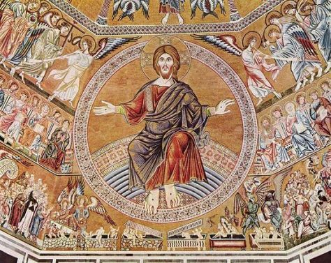 The PAROUSIA - Medieval Fresco