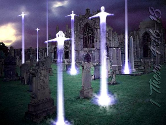The Rapture of the Saints - Pictured by Enoch and Elijah?