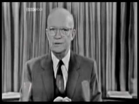"""Eisenhower and """"The Military Industrial Complex"""""""
