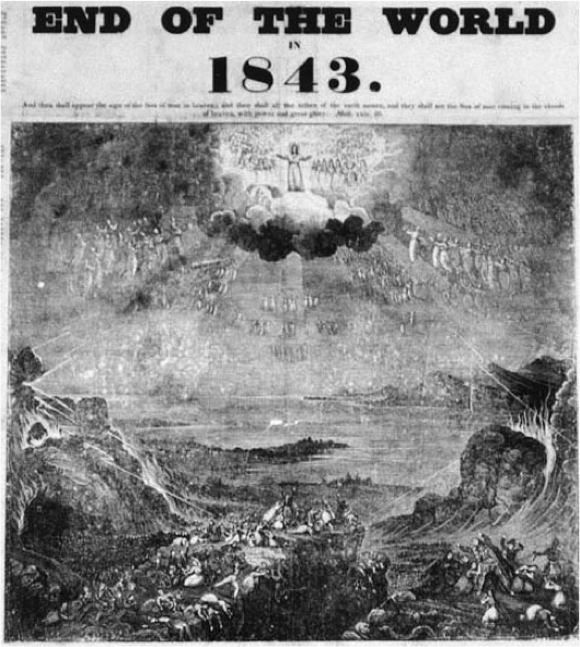 The MIllerites and the End of the World--1843