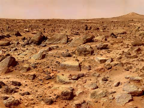 A TYPICAL MARTIAN LANDSCAPE