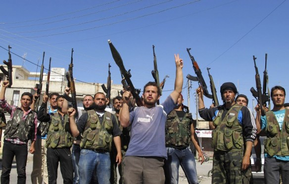 Rebels in the Syrian Civil War