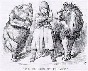 The Great Game - The Russian Bear and the English Lion