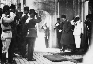 The Dissolution of the Sultanate - 1922