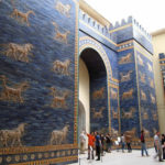 ISHTAR GATE ON DISPLAY IN BERLIN MUSEUM