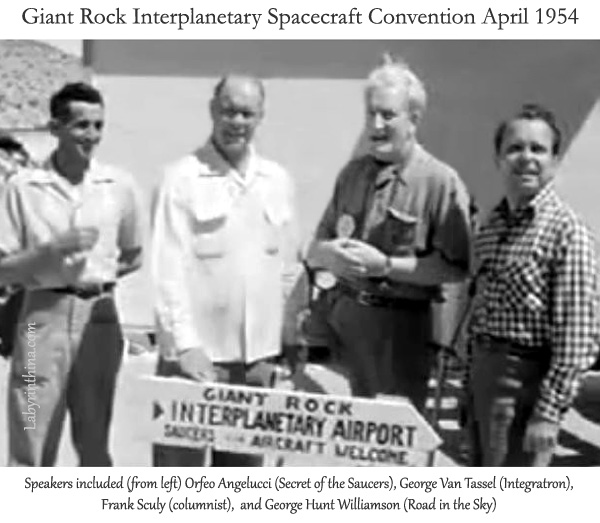 GEORGE VAN TASSEL - AMERICA'S FIRST UFOLOGIST (2ND FROM LEFT)