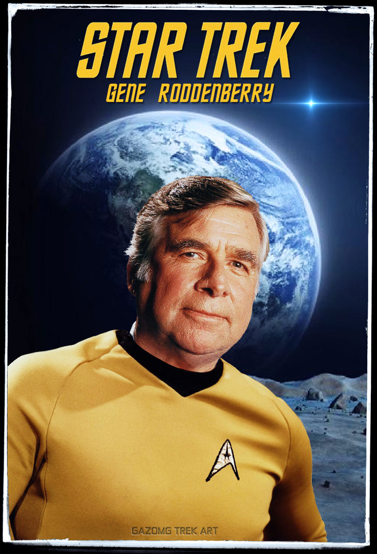 Creator of Star Trek - Gene Roddenberry - Member of the Council of Nine