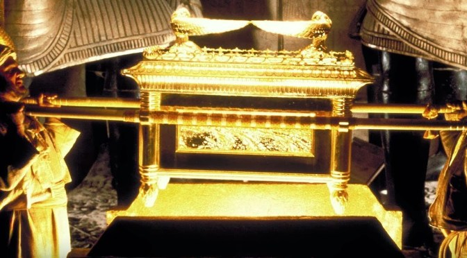 THE DISCOVERY OF THE LOST HEBREW BIBLE AND THE HIDING OF THE LOST ARK OF THE COVENANT