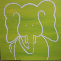 Nursery Art Elephant