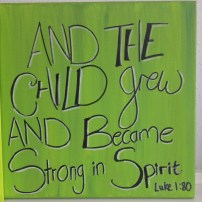 Nursery Art Scripture