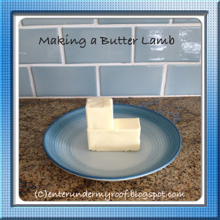 butter lamb, paschal lamb, easter, recipe, easter recipe, lamb