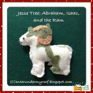 Jesse Tree: Abraham, Isaac, & the Ram
