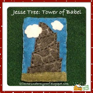 ACTIVITY: Jesse Tree: Tower of Babel