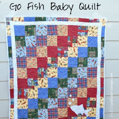 Quilting: A Gift from Heaven – a Fishing Quilt from Great Grandma to her Great Grandson