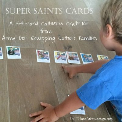 Super Saints Cards Complete Deck from Equipping Catholic Families!