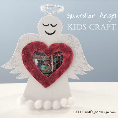 Guardian Angel Craft and Project for Kids