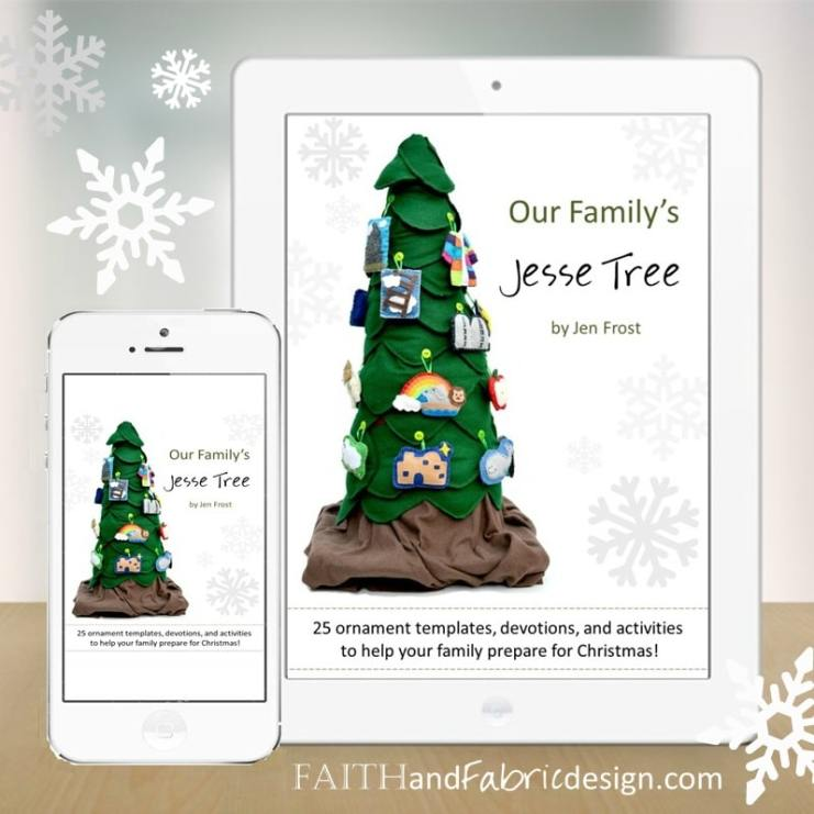 Jesse tree ornaments patterns devotions and prayers for Jesse tree ornament templates