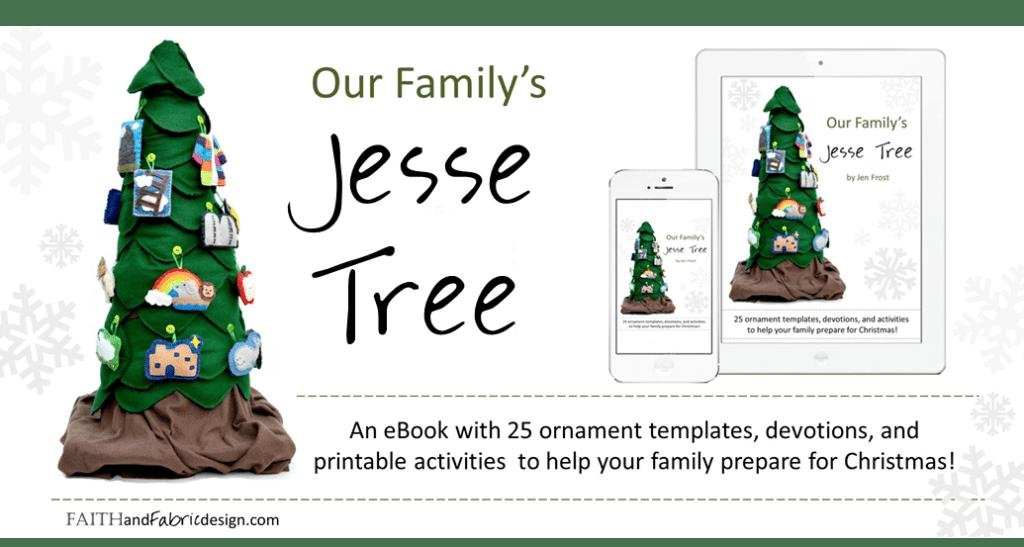 Jesse Tree Ornaments Patterns Book