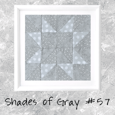 Shades of Gray: Farmer's Wife Block 47 Margaret