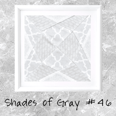Shades of Gray: Farmer's Wife Block 46 Jewel