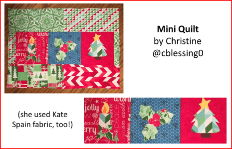 Christmas Applique Quilt Pattern Christine