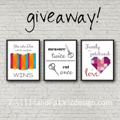 GIVEAWAY: Gifts for Quilters and Sewists
