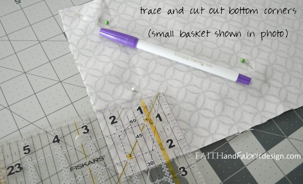 Nesting Baskets Pattern Tutorial 4