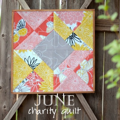 Charity Quilt: The Emperor's Garden Block 6