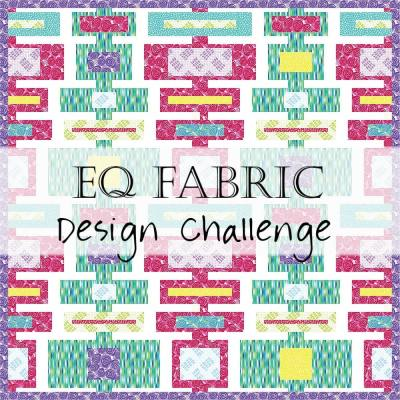 EQ Design Challenge: Abstract Garden Fabrics