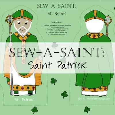 Sew-a-Saint: Saint Patrick