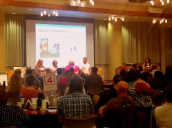 Panel talks about congregational partnerships with service providers