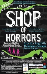 Zilker Summer Musical Poster