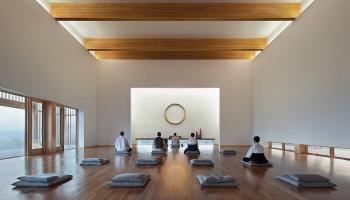 Image result for meditation hall