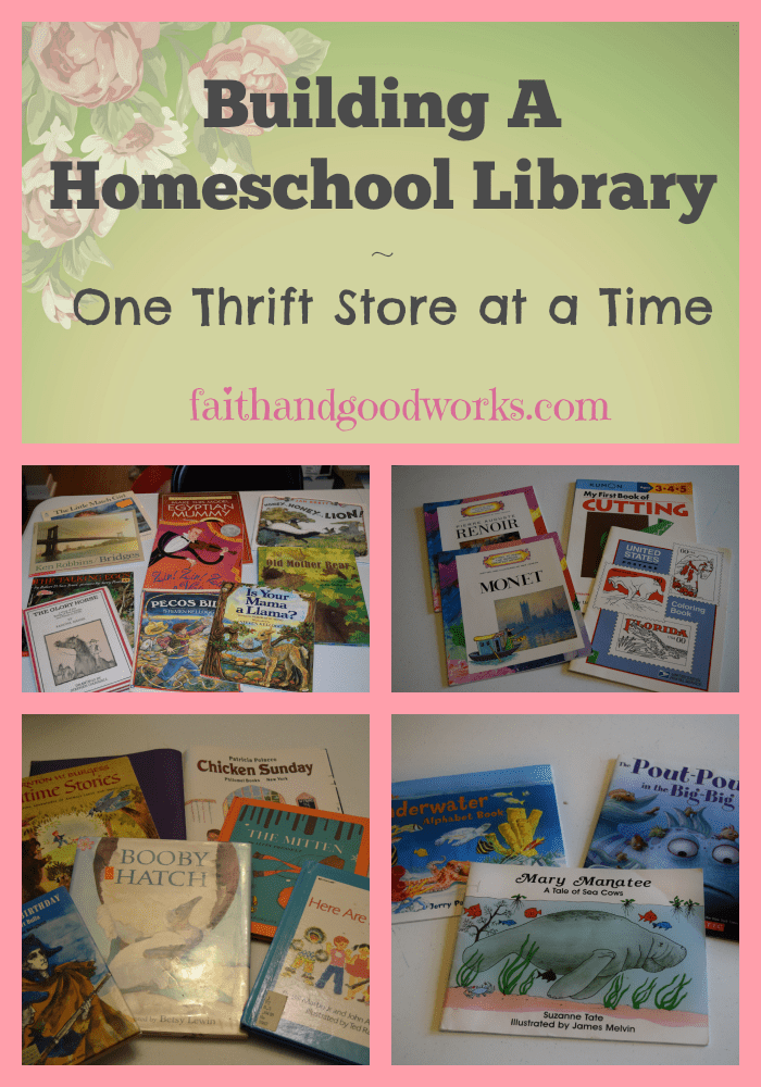 Building A Homeschool Library #2
