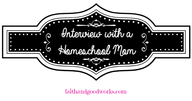 Interview with a Homeschool Mom ~ Sarah Centeno