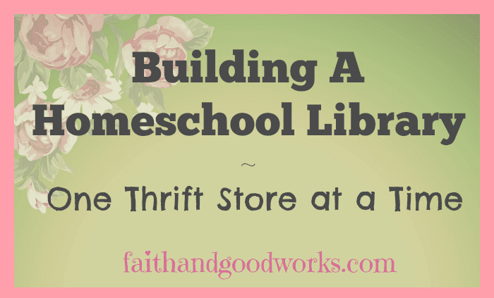 Building a Homeschool Library ~ January